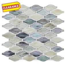 Clearance! Twilight in Fiji Bouquet Glass Mosaic