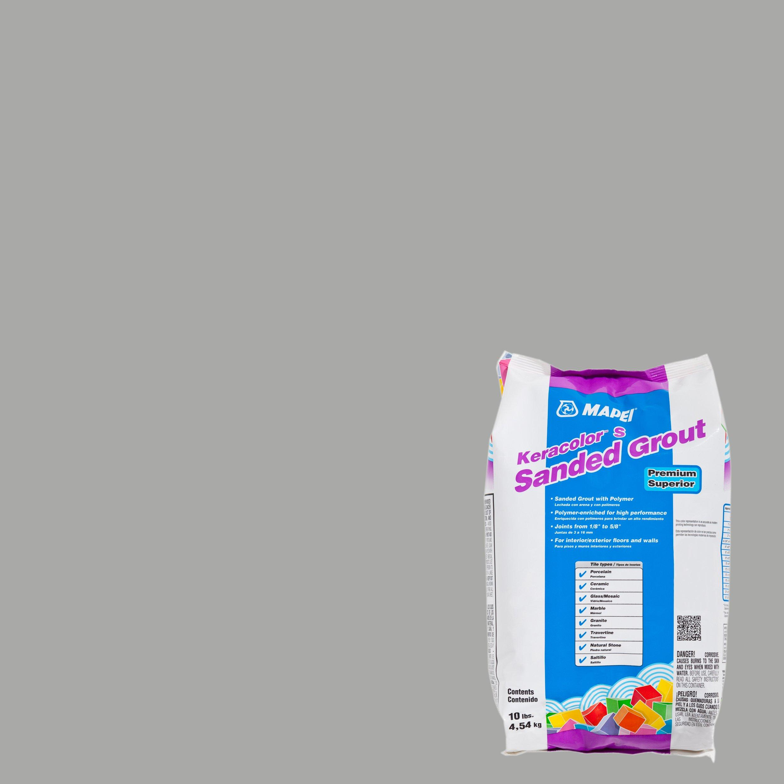 Mapei 27 Silver KeraColor Sanded Grout - 10lb  - 100035575 | Floor