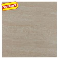 Clearance! Samana Beige Polished White Body Ceramic Tile