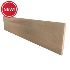 New! Unfinished Red Oak Solid Stair Riser - 36 in.