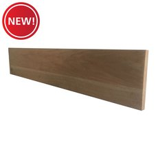 New! Unfinished Red Oak Solid Stair Riser - 42 in.