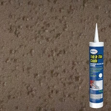 Bostik Delorian Gray Tub and Tile Sanded Caulk