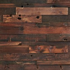 Antique Panel Wood Mosaic