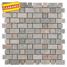 Clearance! Andes Brick Slate Mosaic