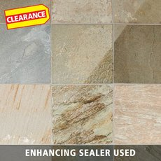 Clearance! Andes Natural Quartzite Tile