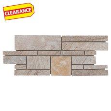 Clearance! Olympic Beige Linear Slate Mosaic