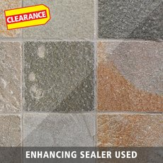 Clearance! Andes Natural Decorative Slate Tile