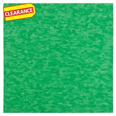 Clearance! Grabbing Green Vinyl Composition Tile - VCT - 57511