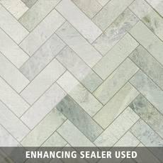 Caribbean Green Marble Tile