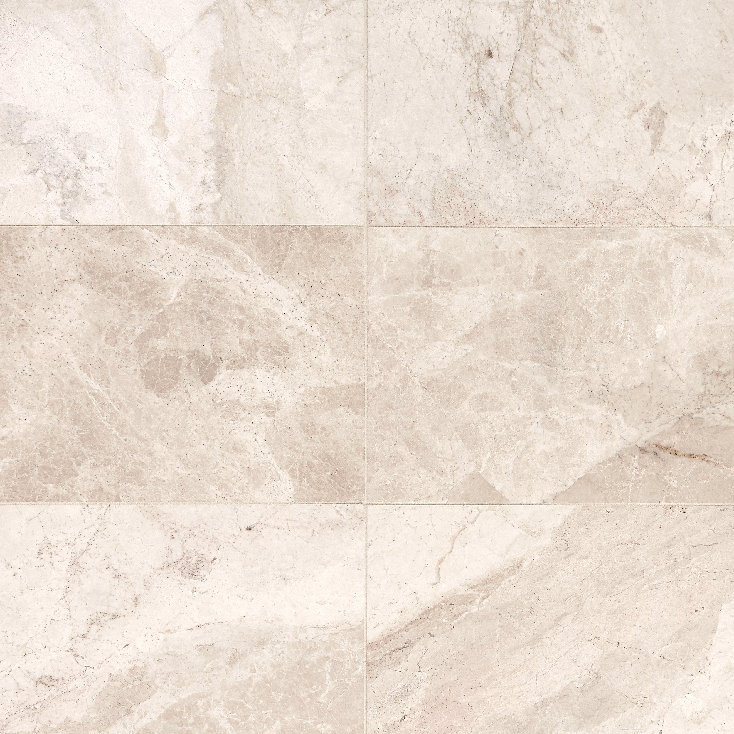 Crema Bella Classic Polished Marble Tile 12 X 24 100051697
