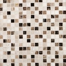 Super Mix Square Polished Marble Mosaic