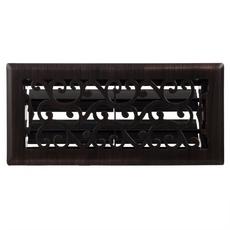 Charleston Oiled Bronze Floor Register