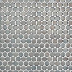Metallic Penny Porcelain Mosaic