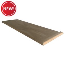 New! Right Hand Oak Single Return - 36 in.