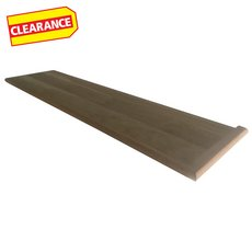 Clearance! Right Hand Oak Single Return
