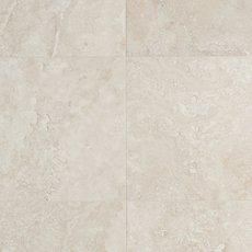Cascade White Premium Honed Travertine Tile 18 X 18