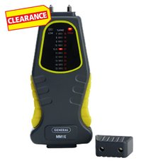 Clearance! General Tools Moisture Meter Pin with Graph