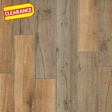 Clearance! Birch Forest Noce Wood Plank Porcelain Tile