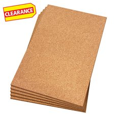Clearance! QEP 1/2in. Natural Cork Underlayment Sheets