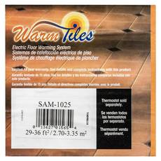 EasyHeat Warm Tiles 120V Mat Kit 16.67ft