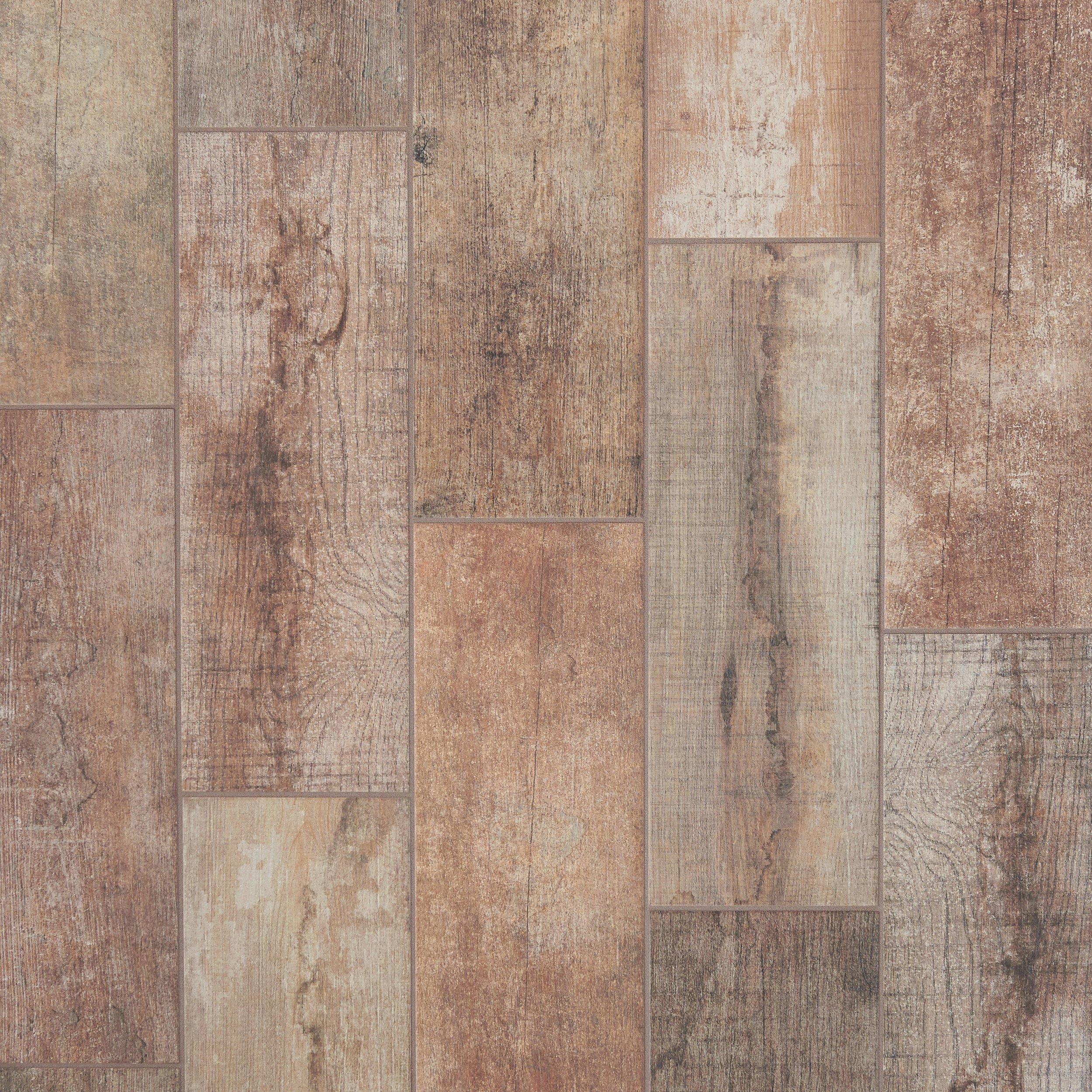 Porcelain Tile Wood Plank: Brunswick Oak Wood Plank Ceramic Tile