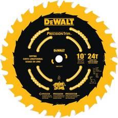 DeWalt 10in. 24 Tooth Precision Trim Blade