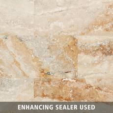 Mississippi Brushed Travertine Tile