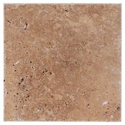 Cafe Noche Honed Travertine Tile 16 X 24 100067941