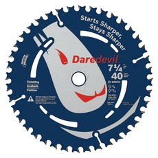 Daredevil 40-Tooth Portable Finishing Saw Blade