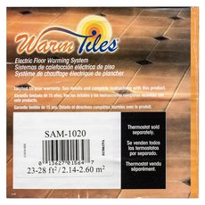 EasyHeat Warm Tiles 120V Mat Kit