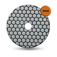 Rubi Dry Resin 200 Grit Polishing Pad