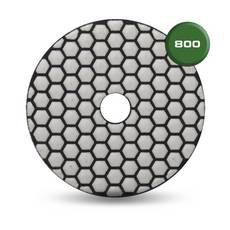 Rubi Dry Resin 800 Grit Polishing Pad