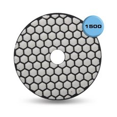 Rubi Dry Resin 1500 Grit Polishing Pad