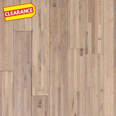 Clearance! Drift Oak Wire Brushed Solid Hardwood