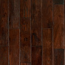 Black Amber Oak Distressed Solid Hardwood