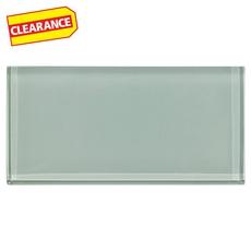 Clearance! Sage Glass Tile