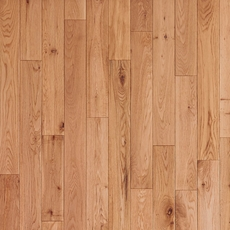 Timberclick Natural Oak Smooth Solid Hardwood