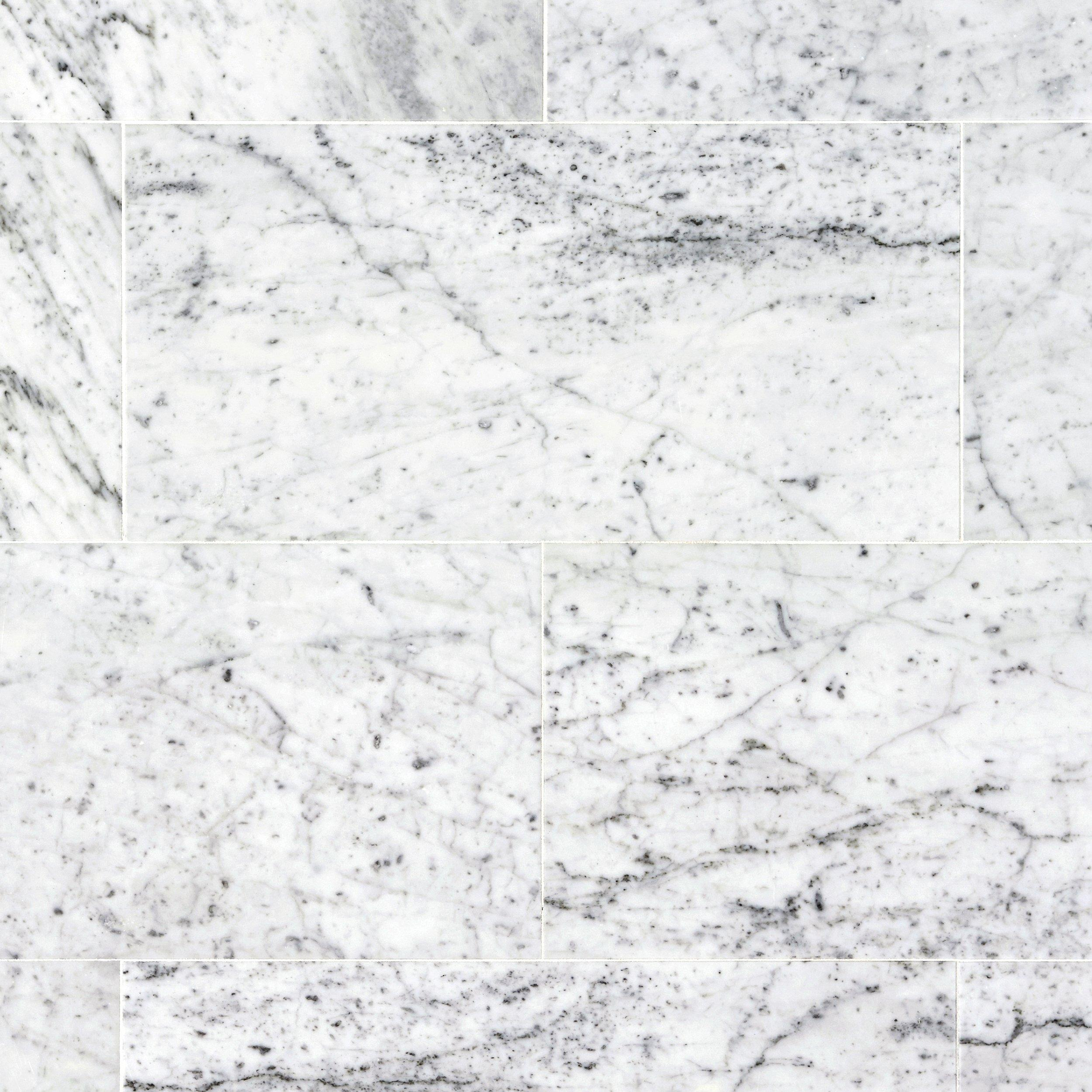 bianco carrara marble tile - White Carrara Marble