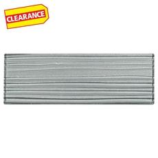 Clearance! Satin Titanium Glass Tile