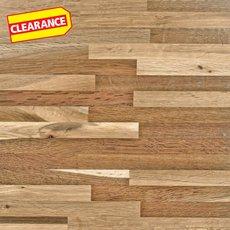 Clearance! Fumed Oak Butcher Block Backsplash 8ft.