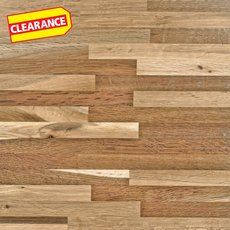 Clearance! Fumed Oak Butcher Block Backsplash 12ft.