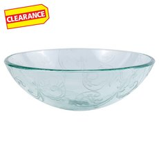 Clearance! Filigree Glass Sink