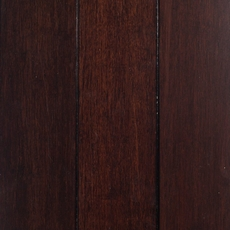Dark Walnut Locking Solid Stranded Bamboo