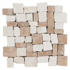 Sumatra Multi Pebble Stone Mosaic