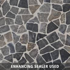 Solo River Gray Pebble Mosaic