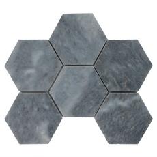 Terre Luna Hexagon Marble Mosaic