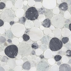 Coastal Marble Pebblestone Mosaic