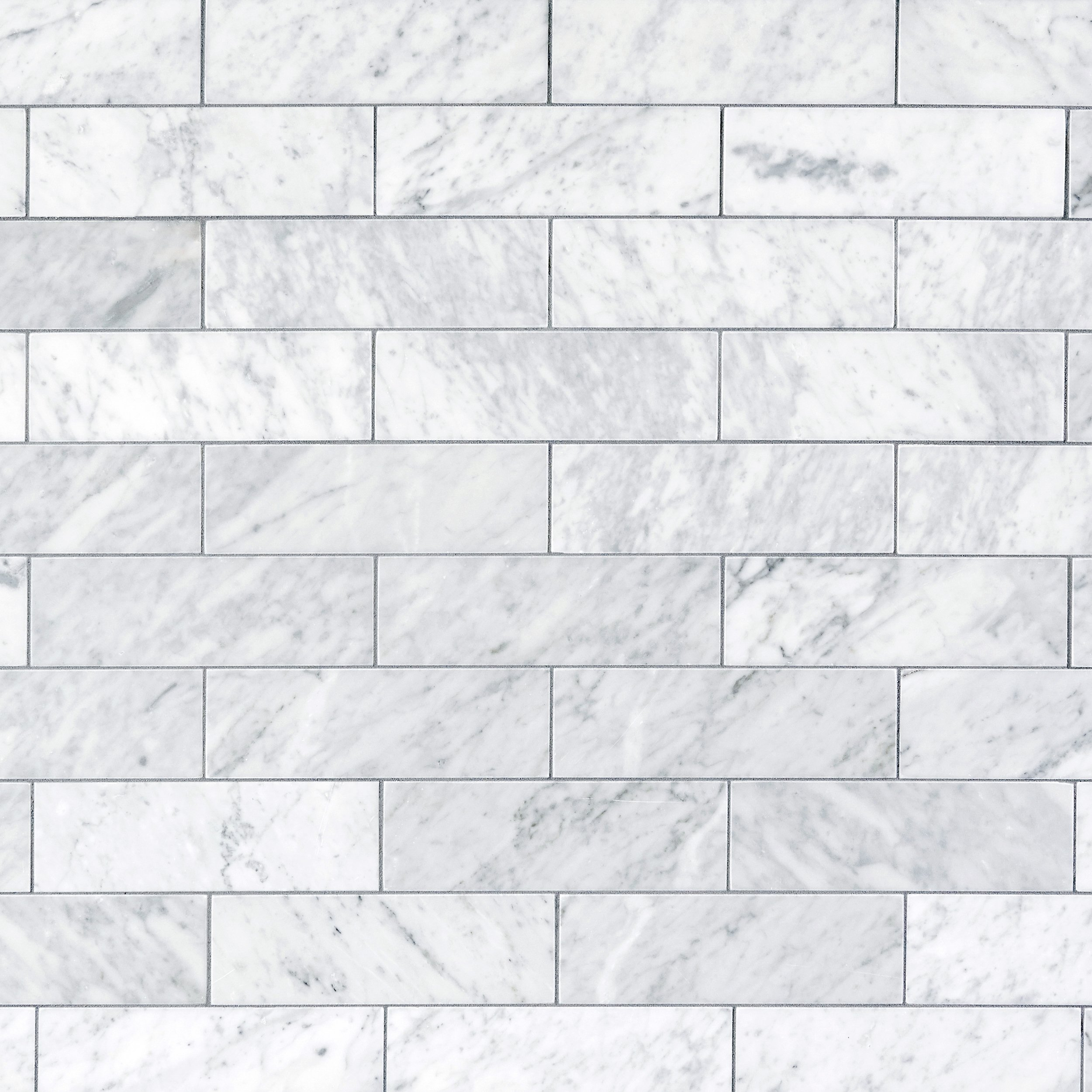 Bianco Carrara Honed Marble Tile 3 X 9 100105105 Floor And Decor