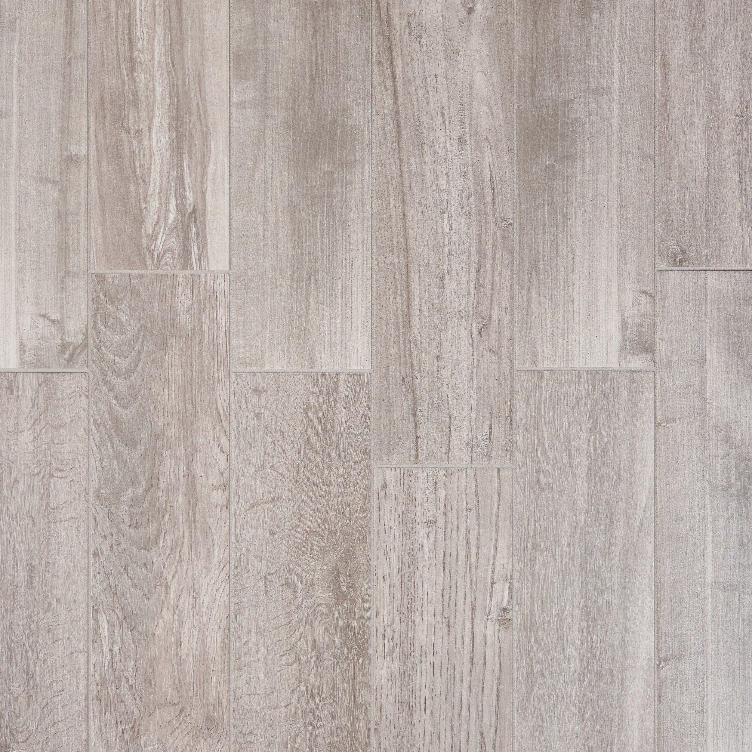 Pier White Wood Plank Porcelain Tile 6 X 36 100199967