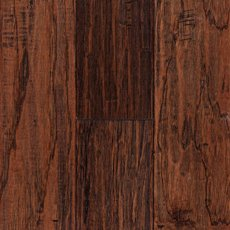 Saddle Hickory Hand Scraped Engineered Hardwood